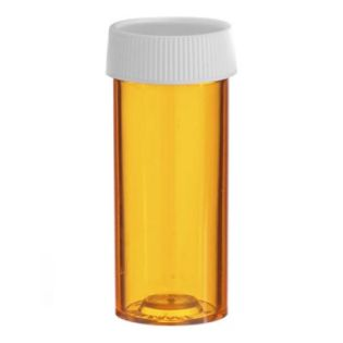 Vial - 4 Dram Amber / 15ml