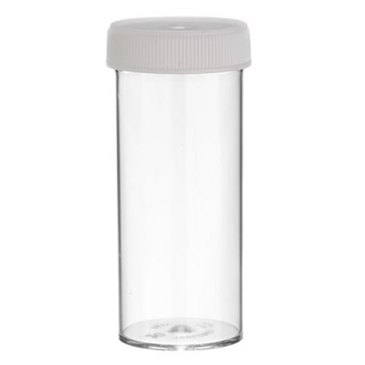 Vial - 20 Dram Clear / 75ml
