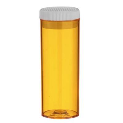 Vial -  8 Dram Amber Push / 27.5ml